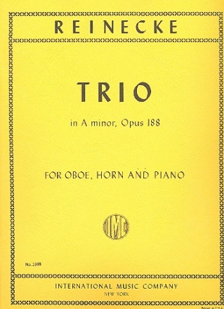 Trio a minor op.188 - for oboe, horn and piano