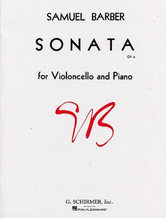 Sonata op.6 for violoncello and piano