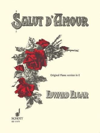 Salut d'amour e major op.12,3 for piano