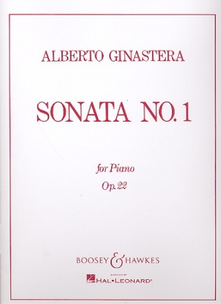 Sonata no.1 op.22 for piano