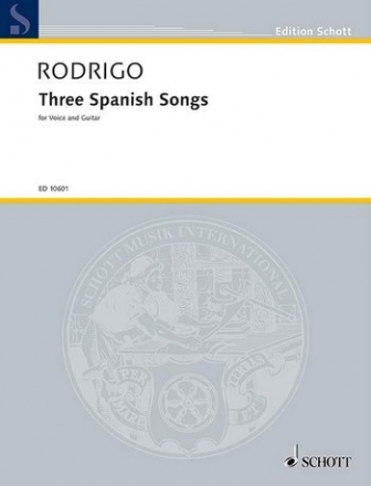 3 spanish Songs for voice and guitar (sp)