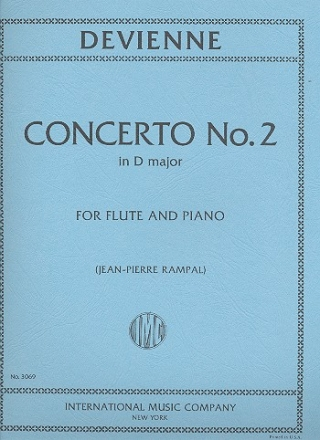 Concerto D major no.2 - for flute and piano