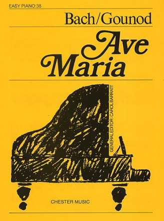 Ave Maria for easy piano