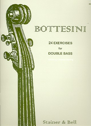 24 Exercises for double bass