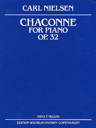 Chaconne op.32 - for piano
