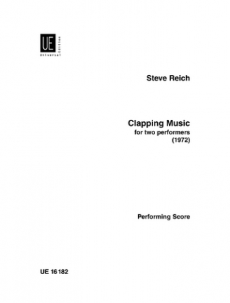 Clapping music for 2 performers score