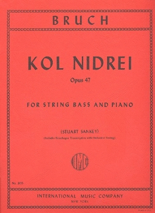 Kol nidrei op.47 - for double bass and piano
