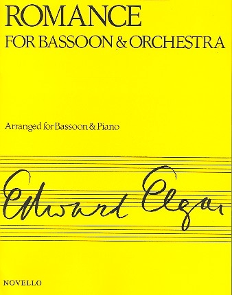 Romance op.62 - for bassoon and piano