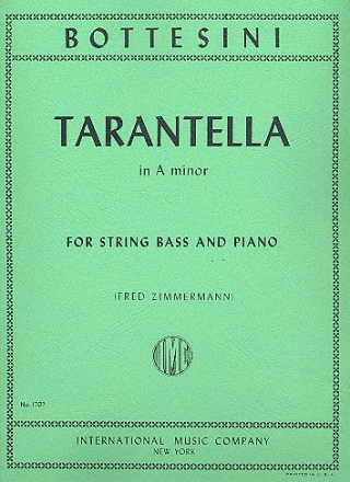 Tarantella a minor for double bass and piano