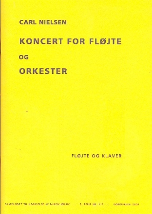 Concerto - for flute and orchestra (1926)    Klavierauszug