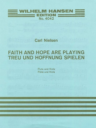 Faith and Hope are playing for flute and viola 2scores