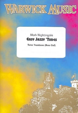 Easy jazzy 'tudes (+CD) - for trombone (bass clef)