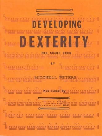 Developing Dexterity - for snare drum