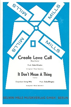 Creole Love Call  und It don't mean a Thing: für Salonorchester