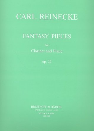 Fantasy Pieces op.22 - for clarinet in A or Bb and piano