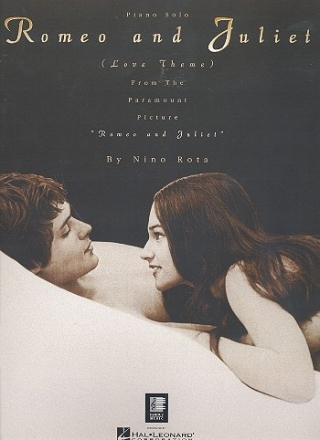 Romeo and Juliet (Love Theme): Einzelausgabe for piano solo