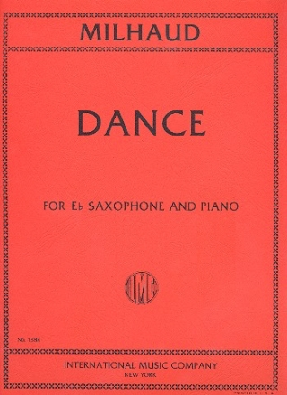 Dance - for saxophone and piano
