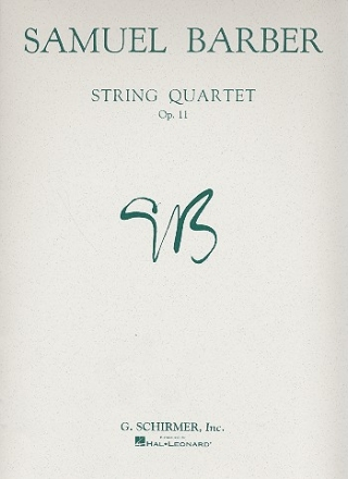 String quartet op.11 parts