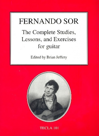 The complete Studies, Lessons and Exercises for guitar