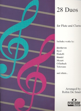 28 Duos for flute and clarinet