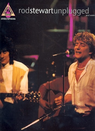 Rod Stewart - Unplugged songbook recorded version for voice/guitar