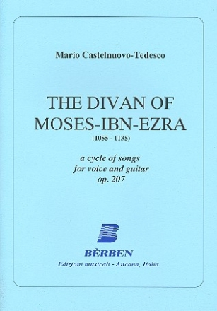 The Divan of Moses-ibn-Ezra op.207 for voice and guitar