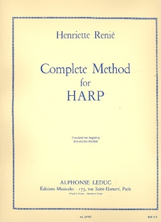 Complete Method for Harp (vol.1 and 2) (en)