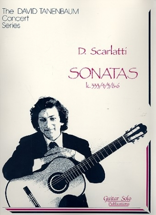 Sonatas K333-K336 - for guitar