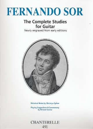 The complete Studies for guitar