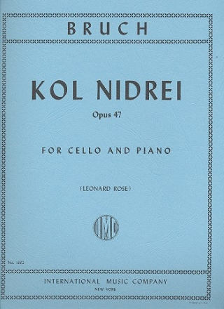 Kol nidrei op.47 for cello and piano