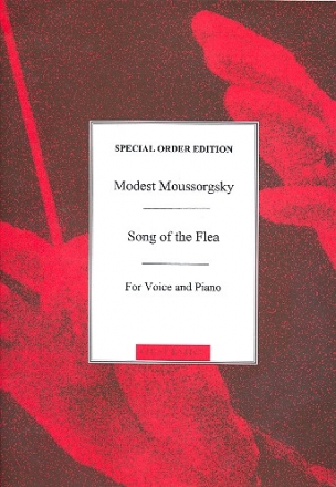 Song of the Flea - for bass voice and piano (rus/en/fr)