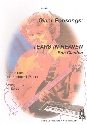 Tears in Heaven for 3 flutes and keyboard (piano) parts