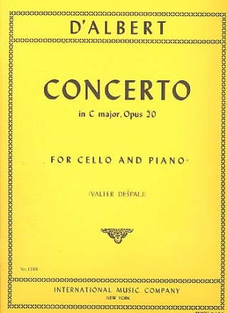 Concerto C major op.20 - for cello and piano