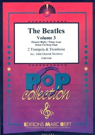 The Beatles vol.3 - 3 Songs for 2 trumpets and trombone (euphonium)