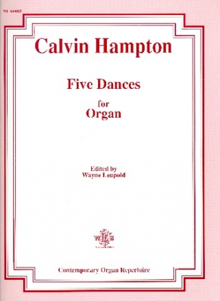 5 dances - for organ