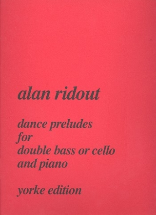 Dance Preludes for double bass (cello) and piano