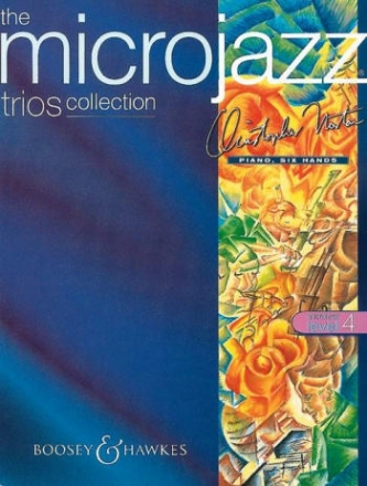 The Microjazz Trios Collection Level 4 - for piano 6 hands score