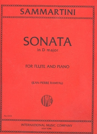 Sonata G major - for flute and piano