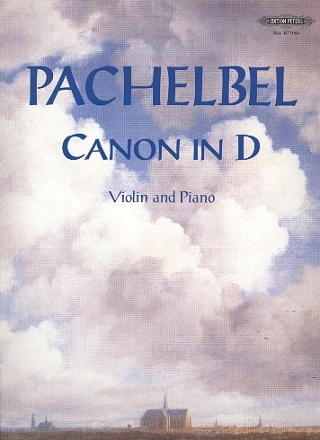 Canon in D for violin and piano