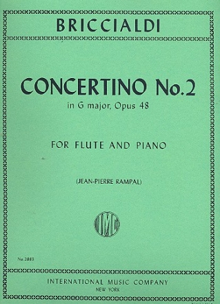 Concertino G major no.2 op.48 - for flute and piano