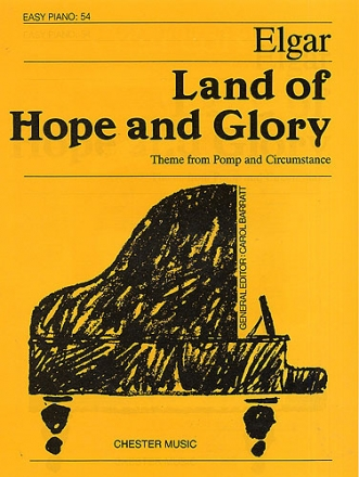 Land of Hope and Glory - for easy piano