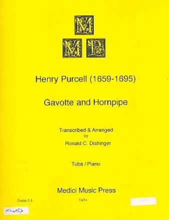 Gavotte and Hornpipe for tuba and piano