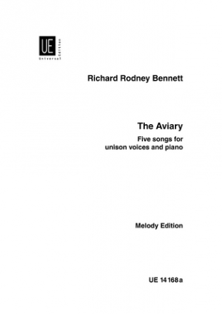 THE AVIARY FOR UNISON VOICES AND PIANO CHORUS PART