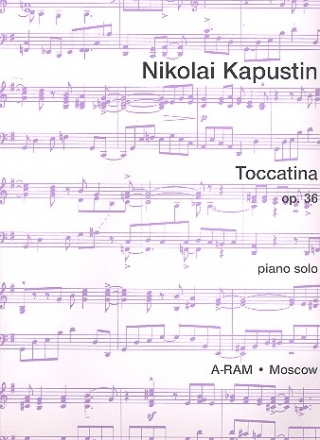 Toccatina op.36 - for piano