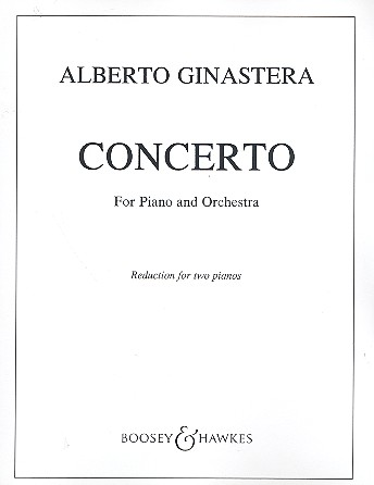 Concerto no.1 op.28 for piano and orchestra reduction for 2 pianos