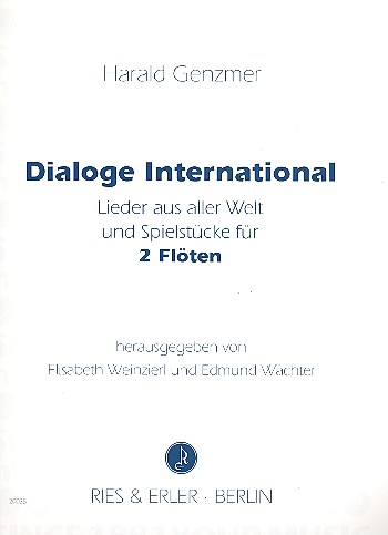 Dialoge International für 2 Flöten
