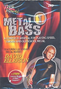Metal bass level 1 - DVD incl. Web Membership for Online Lesson Support