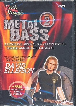 Metal bass level 2 - DVD incl. Web Membership for Online Lesson Support