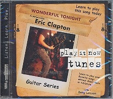 Eric Clapton - Wonderful tonight CD Guitar Series Song Lesson Level 1 Play it now tunes