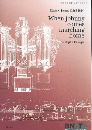 When Johnny comes marching home - für Orgel